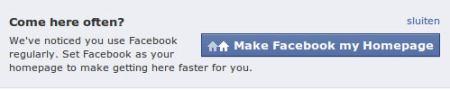 FB Homepage
