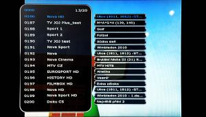 HD-BOX FS-9300 PVR - info - EPG