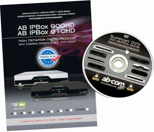 AB IPBox 910HD manual