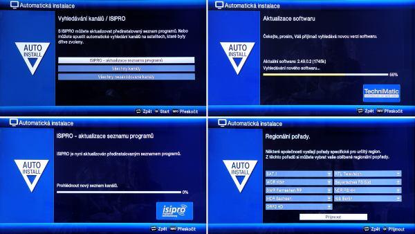 TechniSat Digit ISIO S1 autoinstalace