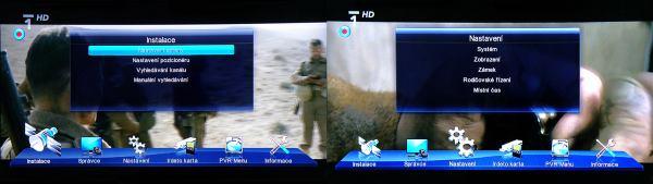 Zircon shd 007 menu instalace
