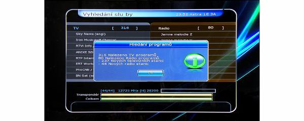 HD-BOX-FS-9105 vyhledávání