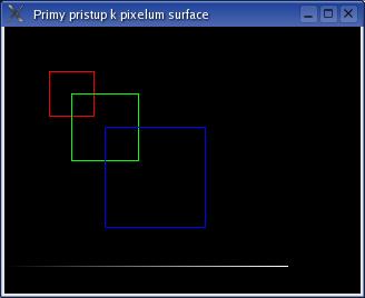 Přímý přístup k pixelům surface