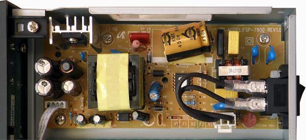 HD BOX IRD-8000 HD PVR zdroj