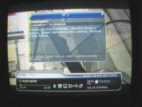 IceCrypt STC6000HDPVR obrazovka
