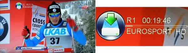 DI-Way ICE 7000HD nahrávání