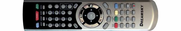 Dreamsky 8080HD dálkový ovladač