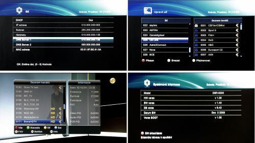 DreamSky DSR-9300 HD PVR systémové info