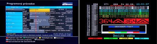 Topfield SBI-2060 - EPG a teletext