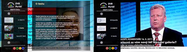 TechniSat Digit ISIO S1 úvodní menu