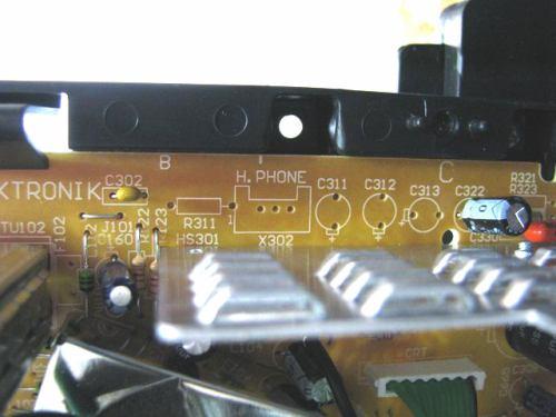 Sencor STV 2112DVBT - vnitřek MHP