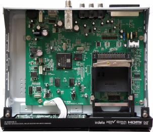 ARION AF-5230VHD CI vnitřek