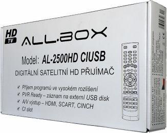 AL-2500HD CIUSB krabice