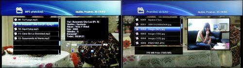 DreamSky DSR-9300 HD PVR MP3 a obrázky