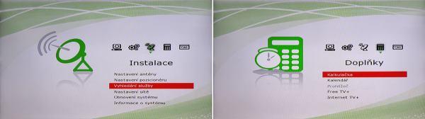 HD BOX IRD-8000 HD PVR menu 2
