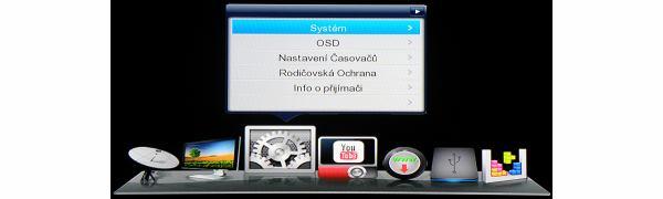 DreamSky NXP256HD hlavní menu 4