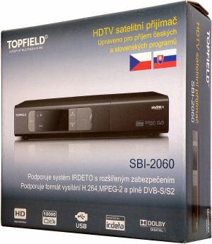 Topfield SBI-2060 - krabice