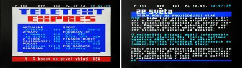 Vantage VT-1 teletext