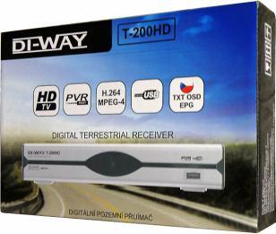 DI-WAY T-200HD krabice