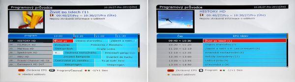 HD BOX IRD-8000 HD PVR EPG
