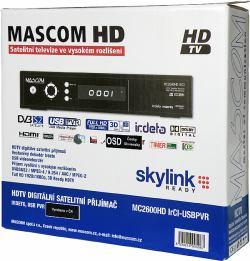 MASCOM MC2600HD IRCI krabice