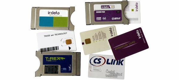 Homecast HS 3200CIIR moduly a karty