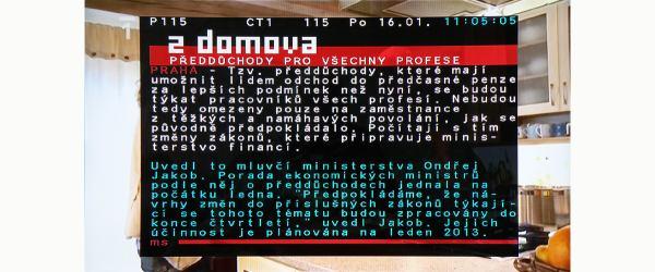 KAON KSF-SA700PIR teletext