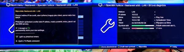 TechniSat Digit ISIO S1 nastavení
