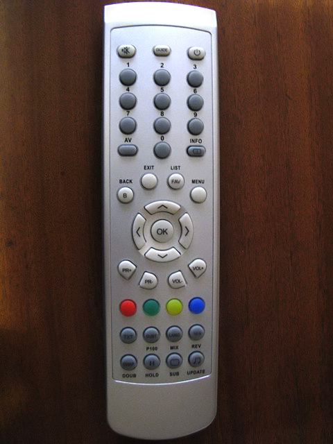 Sencor STV 2112DVBT - dálkový ovladač