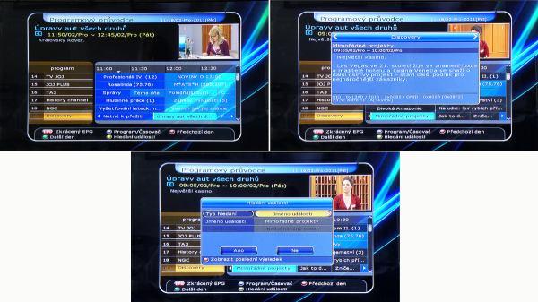HD-BOX FS-7110 HD PVR EPG
