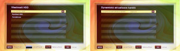 ATlink 100 IR vlastnosti a aktualizace kanálů