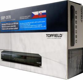 Topfield SBP-2070 krabice