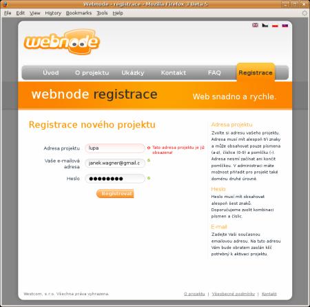 Webnode 1