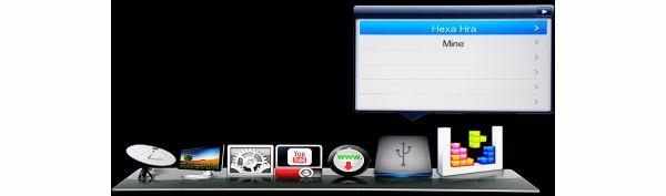 DreamSky NXP256HD hlavní menu 7