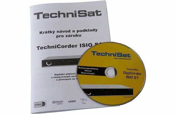 TechniSat DigiCorder ISIO S1 manual