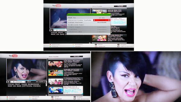 HD BOX IRD-8000 HD PVR YouTube