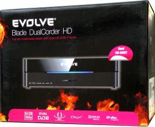 EVOLVE Blade DualCorder HD krabice
