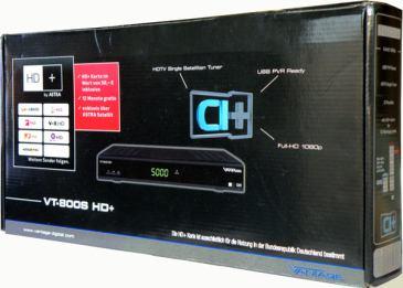 Vantage-VT-800s PVR krabice