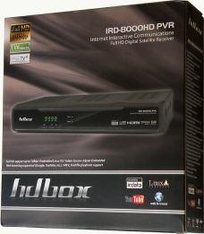 HD BOX IRD-8000 HD PVR krabice