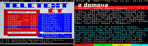 DreamSky NXP256HD teletext