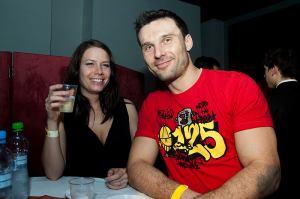 Kamil Levinský s přítelkyní