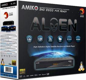 Amiko SHD-8900 Alien krabice