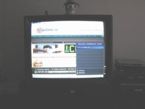 IceCrypt STC6000HDPVR klávesnice