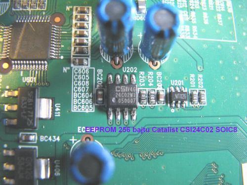 IceCrypt STC6000HDPVR základní deska