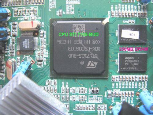 IceCrypt STC6000HDPVR procesor