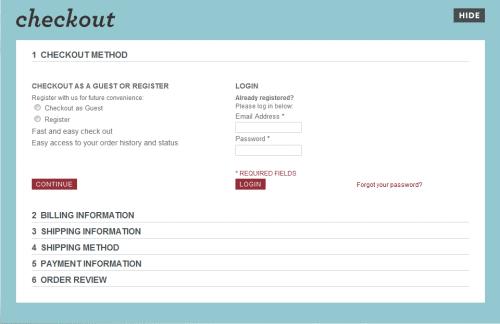 Vcelku malý e-shop Whatisblik.com má v objednávce 6 kroků