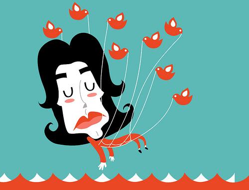 Michael Jackson a Twitter