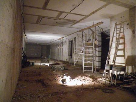 Wedos: Hlavní hala datového centra po bouracích pracích