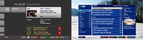HbbTV screenshot