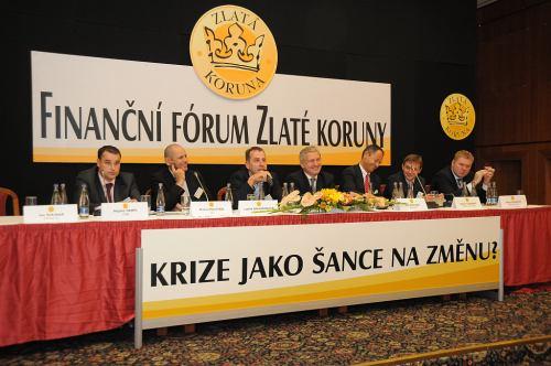 zlata koruna V. financni forum